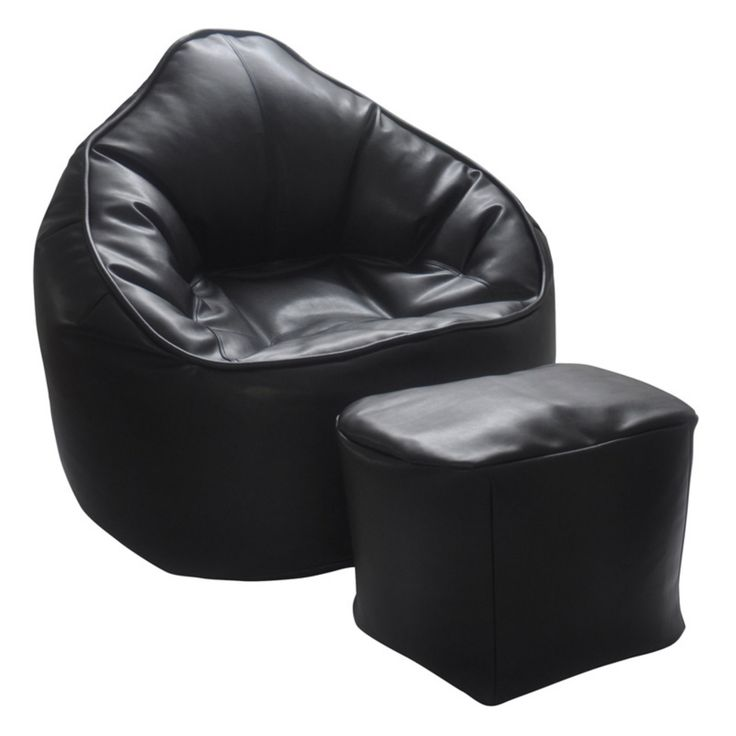 Modern Bean Bag The Giant Pod Bean Bag Chair Set - MBB2987B2