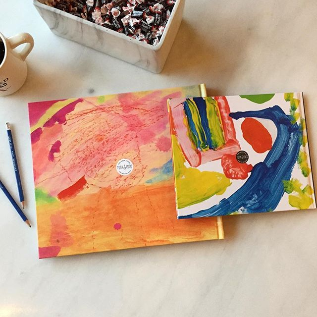 These books were the stars today ✨Some little artists, and their parents, will enjoy going through their pages very soon. #yourkidtheartist #wedoitforyou