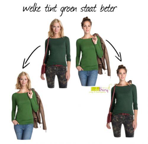 welke-tint-groen-staat-beter. Klik op de foto voor meer details.