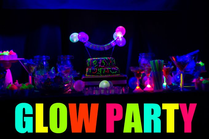 Let S Glow Crazy Party This Glow Party Is Awesome Whether