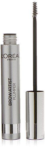 L'Oréal Paris Mascara à Sourcils Brow Artist Transparent: Mascara à Sourcils - Sourcils Clairsemés ou Indomptables Gel tenue longue durée…