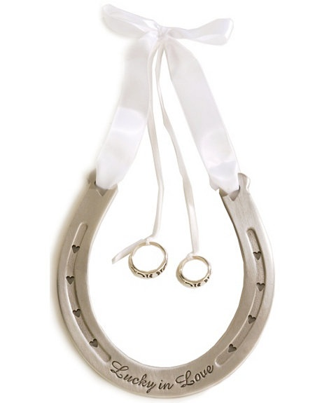 Western wedding ring bearer horseshoe @Beka Bline, this is so you! Perfect for my friend Amy Ryan!