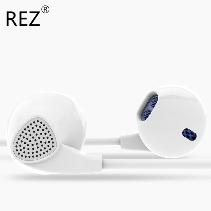 REZ Brand PTM IM500 Headphones Earphone Best Bass Universal Music Headset Earbuds with Microphone for IPhone 5 5s 6 6Plus