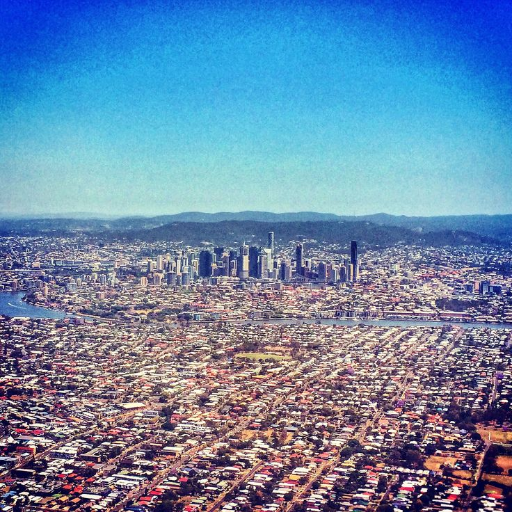 Brisbane from the air ©Aaron Watson