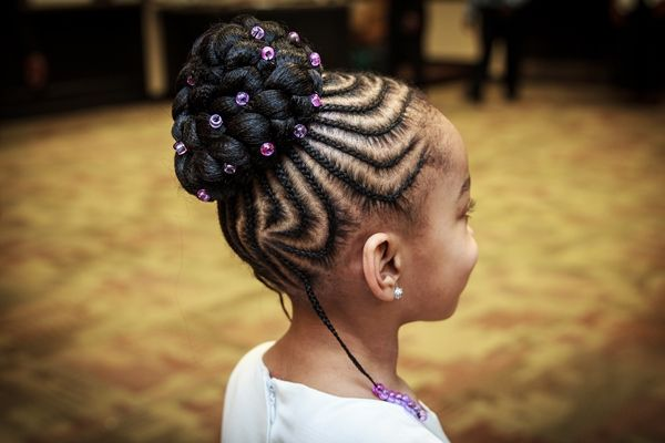 Love this hair for a little girl! An Emotional Second Marriage in Tennessee - Munaluchi Bridal Magazine