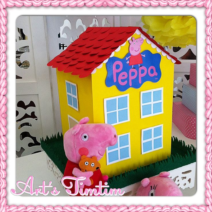 Peppa's house! A porquinha do momento!