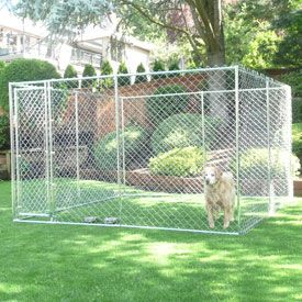 Lucky Dog™ Champion™ Chain Link Dog Kennels