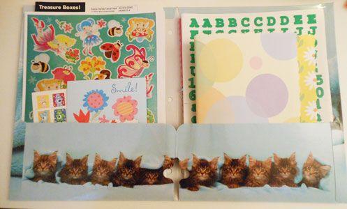 child sponsorship gift ideas folder