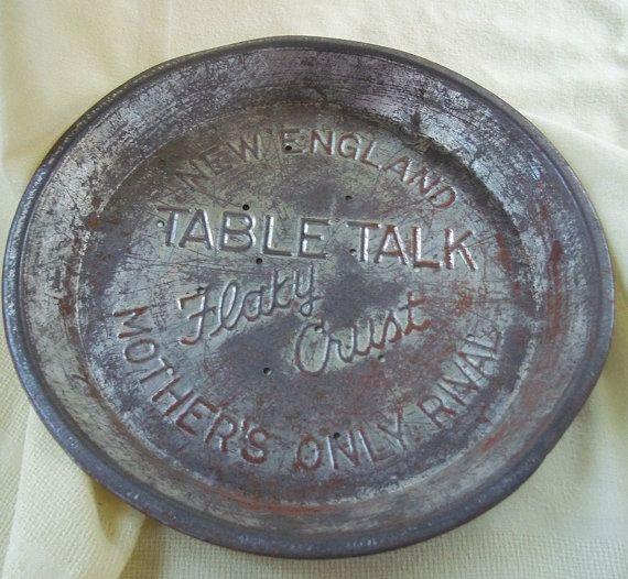 Vintage Pie Tin
