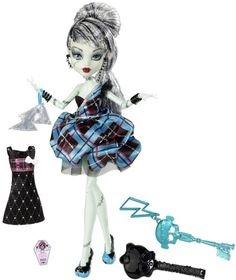 Mattel, Monster High, Słodkie 1600 urodziny Draculaury, Frankie Stein, lalka