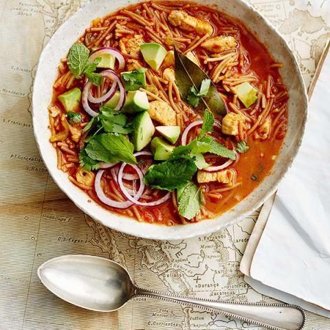 die besten 25 mexikanische suppen rezepte ideen auf pinterest huhn maissuppe vegetarischer. Black Bedroom Furniture Sets. Home Design Ideas