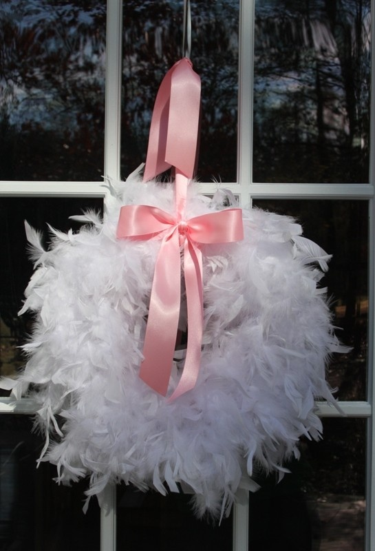 I've made the coffee filter wreath, want to make a balloon wreath for the kids room, but need this too!