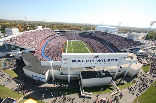 Ralph Wilson Stadium, home of the Buffalo Bills