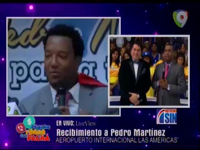 La Rueda De Prensa De Pedro Martínez Tras Su Llegada Al