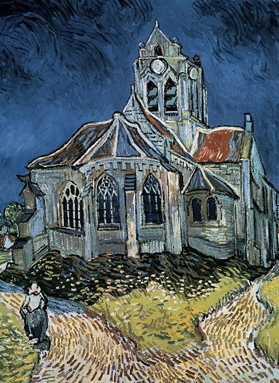 The Church at Auvers - 500pc Jigsaw Puzzle by TOMAX