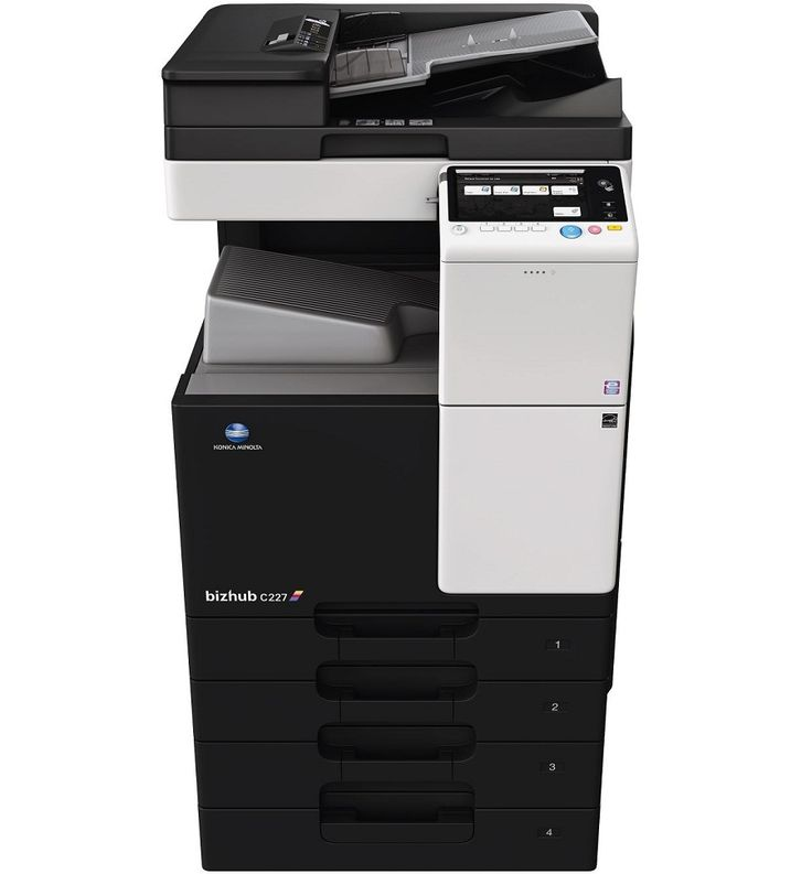 how to set up fax on konica minolta network printer