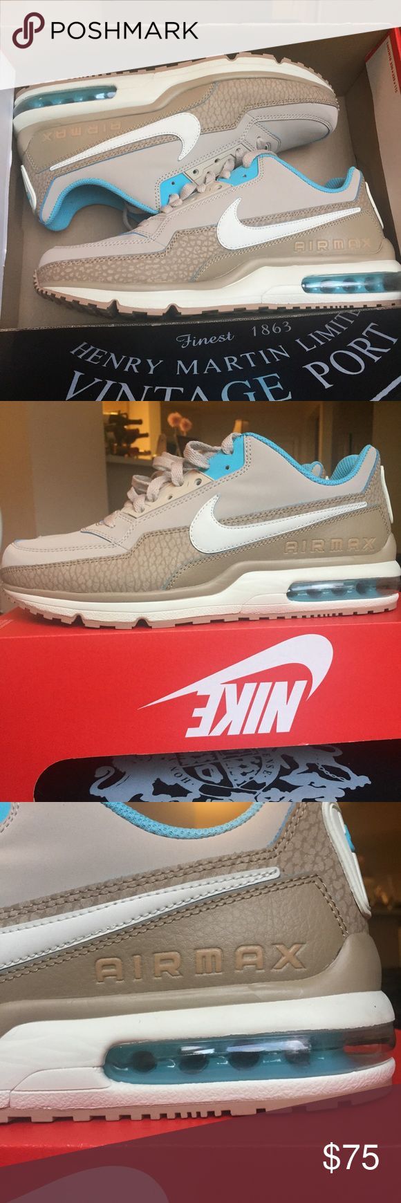 Men's Nike Air Max LTD 3 Premium Running Shoes New Men's Nike Air Max Ltd premium running shoe in size 9.5. Clean shoe and classic look. Nike Shoes Sneakers