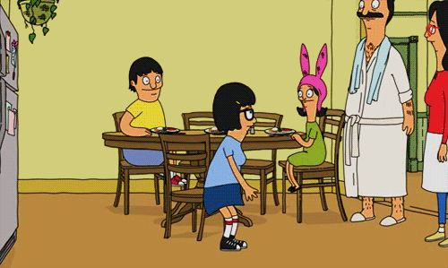 "When your crush does not love you back, you feel as though life might be meeting its end. | 27 Signs We Are All Tina Belcher From ""Bob's Burgers"""