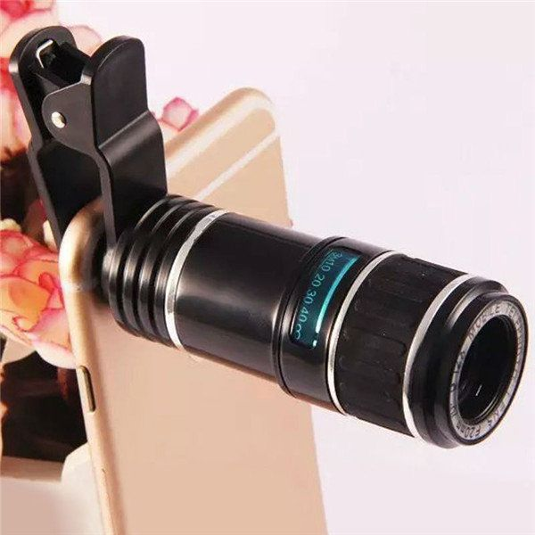 1 118 07 12x Universal Telephoto Lens Mobile Phone Optical Zoom