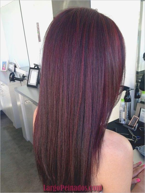 Colores de tintes para el cabello borgona