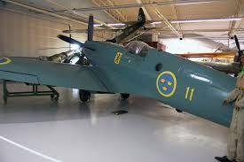 Swedish Air Force museum Spitfire PR XIX