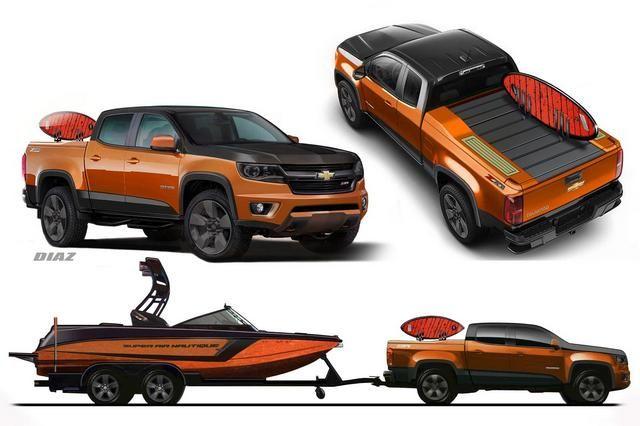 SEMA 2014 : Chevrolet Colorado Nautique Concept