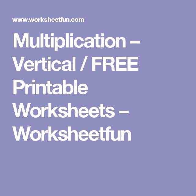 Melhores Ideias De Planilhas De Multiplicao Imprimveis
