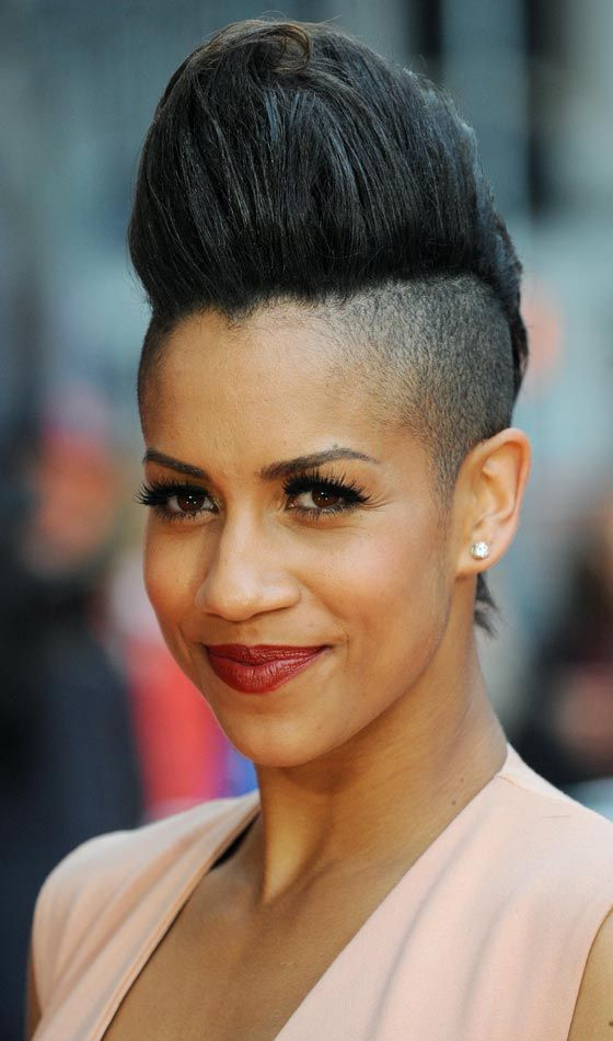 Short Punk Hairstyles - Sky High Mohawk