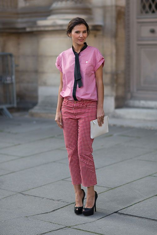 24 Best Images About Cuadros Vichy On Pinterest Pants Footwear And Houndstooth