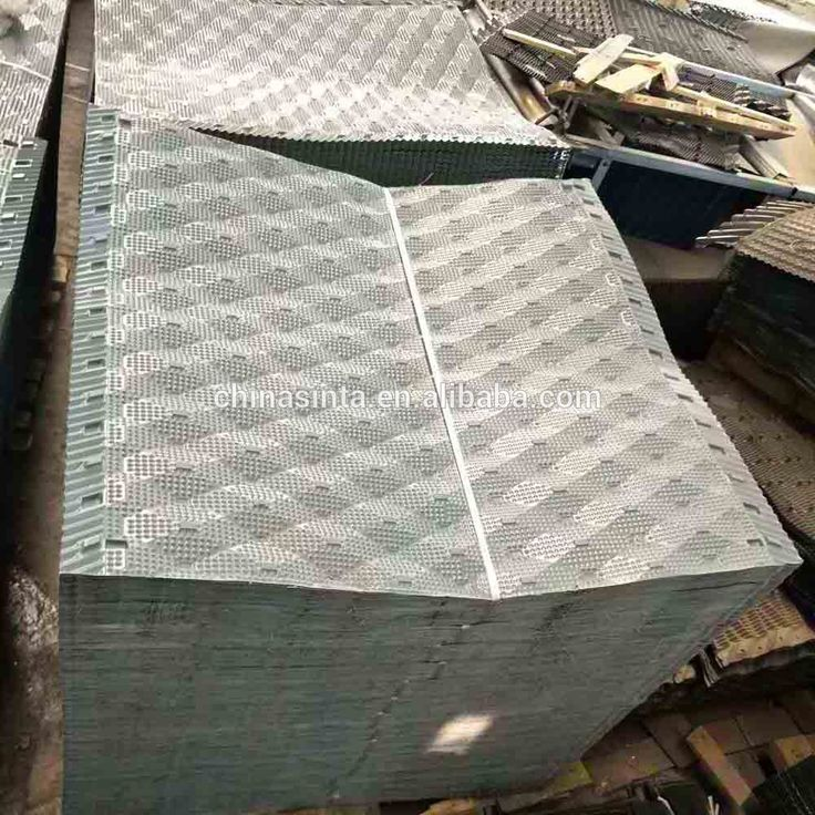 High cooling tower efficiency  spindle Cooling tower pvc fills