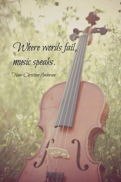 ...yes,,, love music!  My mothers family home was always full of guitars, drums, piano and MUSIC...  sound .... one of our fantastic senses.