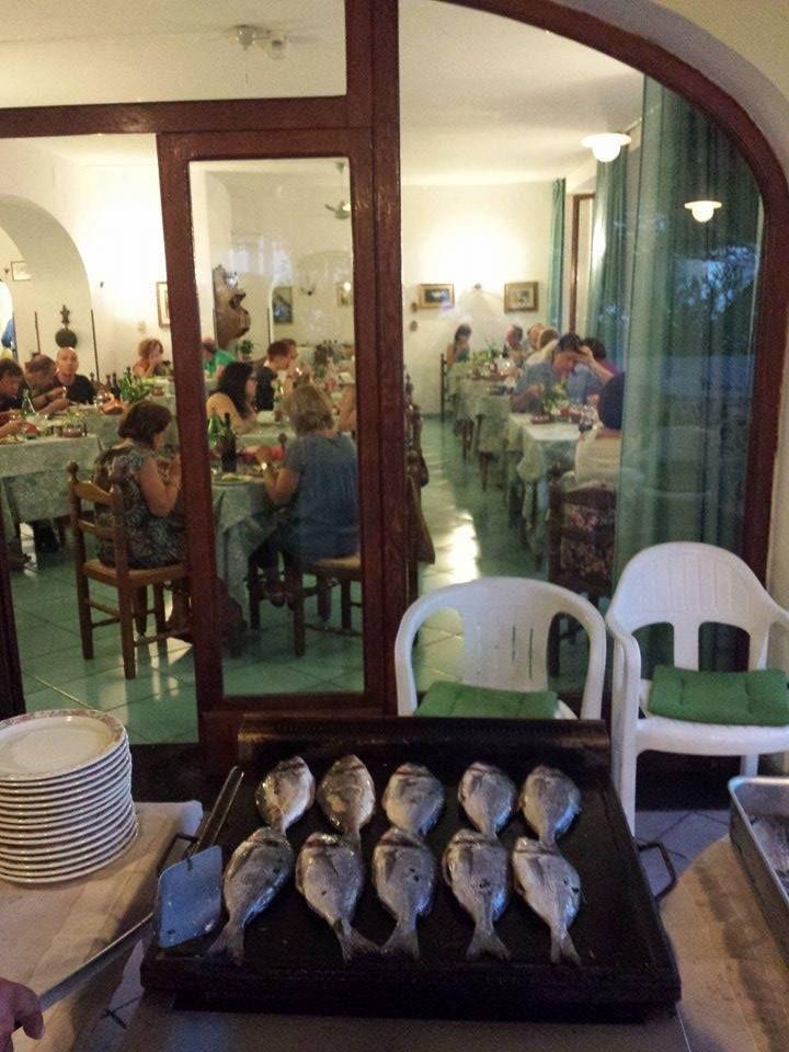 Stasera a cena... #ischia