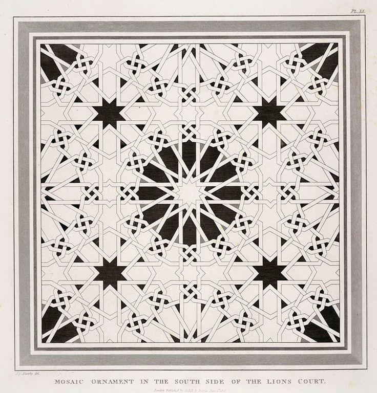 Mosaic Islamic Geometric Pattern