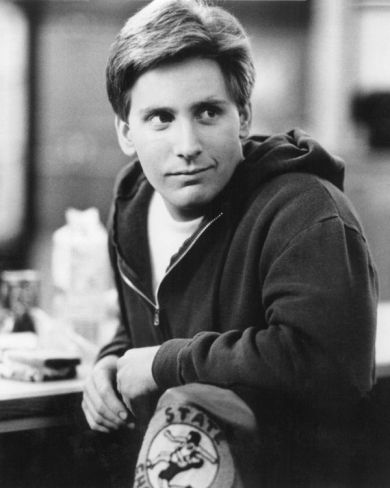 Emilio Estevez - The Breakfast Club-THERE'S A GUY THAT GOES TO MY SCHOOL WHO LOOKS JUST LIKE HIM AND HE'S A WRESTLER!