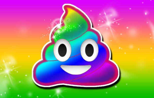 Rainbow Poo: