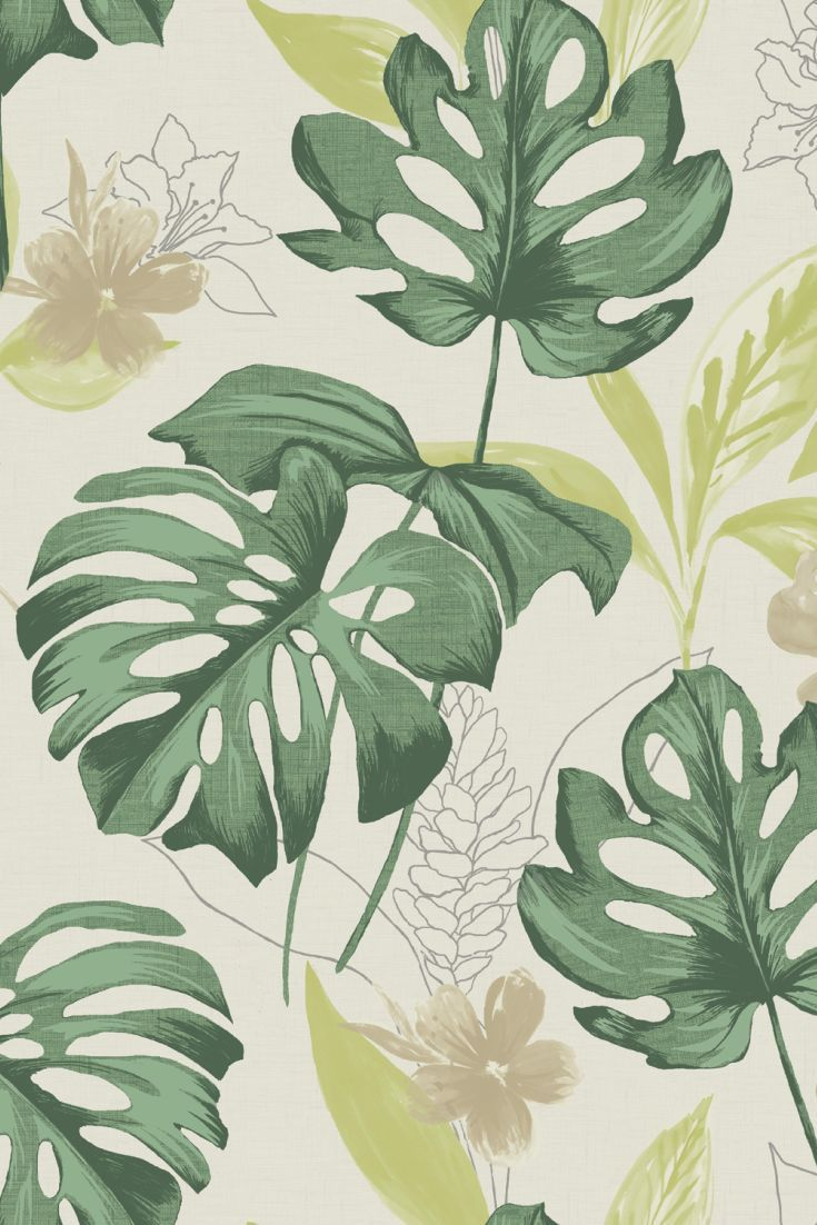 An exotic mix of foliage and flowers from the mexican tropical rain forests of Panama.