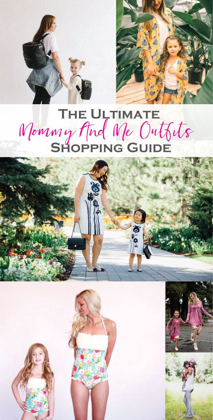 Mommy and Me Outfits: The Ultimate Shopping Guide | mommy and me fashion | mommy and me style ideas | mommy and me outfit ideas | fashion tips for mother and daughter | mom and daughter fashion || Sandy A La Mode