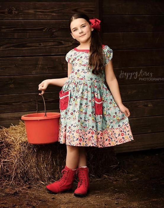 Joy Ride Vintage Picnic Dress