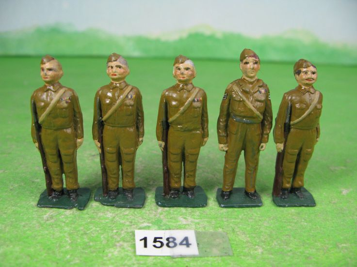 vintage johillco & other lead soldiers home guard 1584   eBay