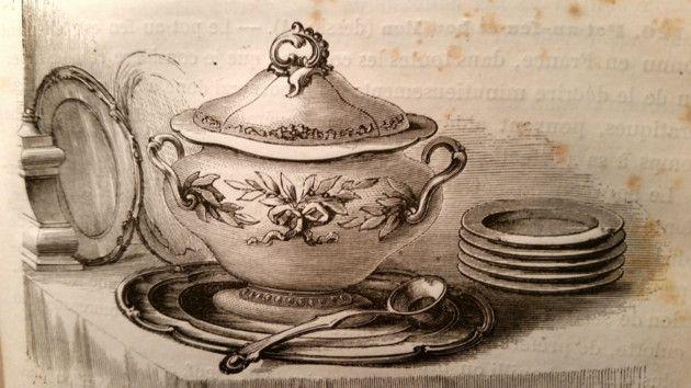 La soupe à la bonne femme : cuisine de nos aïeules en Brie via le Pays Briard