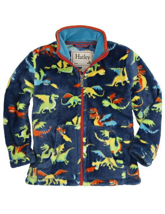 So many fun new prints from Hatley this fall season! These are the new Fuzzy Fleece jackets that we have received - literally the softest, coziest fleece that you will ever feel : ) You can check out more of our Hatley products on our website:http://pumpkinpiekids.com/collections/vendors?q=Hatley