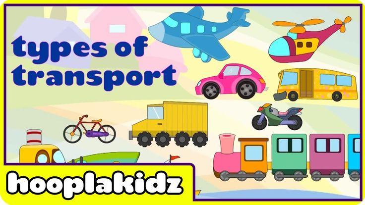 Learn About Transport - Preschool Activity