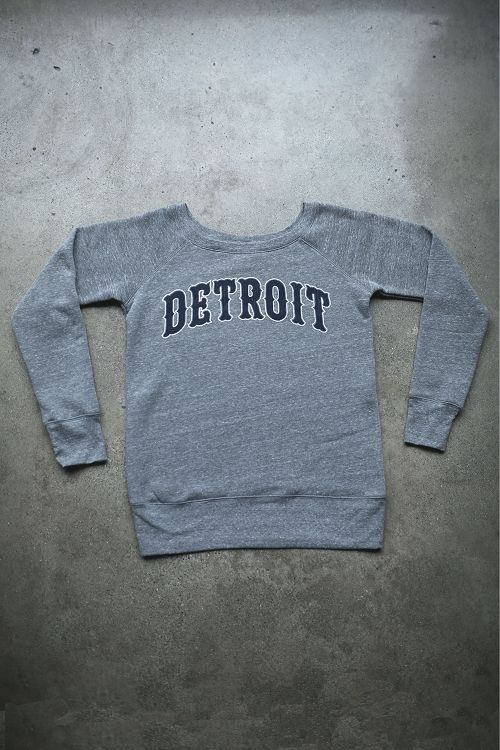 Detroit 1701 Wide Neck Sweatshirt