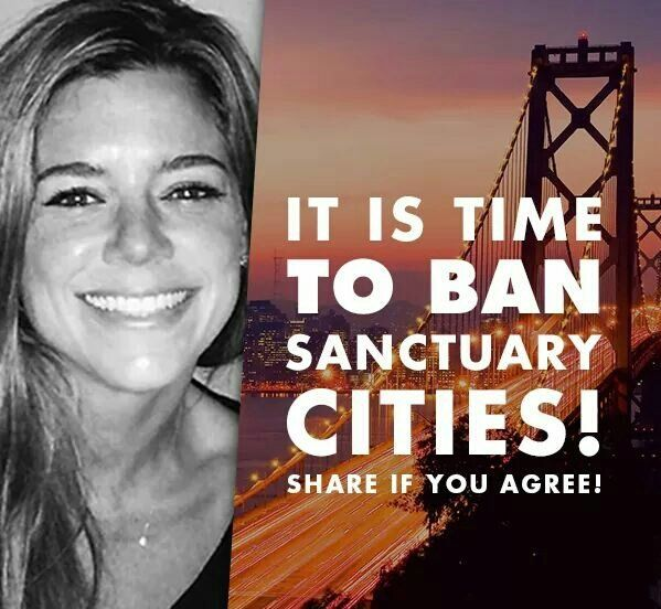 I can't believe that there is such a thing as Sanctuary Cities. What's even worse is that there are people who think they're a good thing MAKE AMERICA A NO SANCTUARY COUNTRY!!