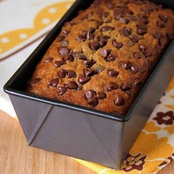 Super-Moist Chocolate Chip and Banana Bread