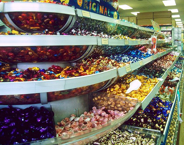 "Woolworths ""Pick 'n' Mix - we were allowed to spend a whole £5 of our Christmas money on it!"
