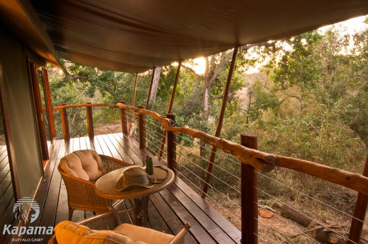 Kapama Buffalo Camp Deck