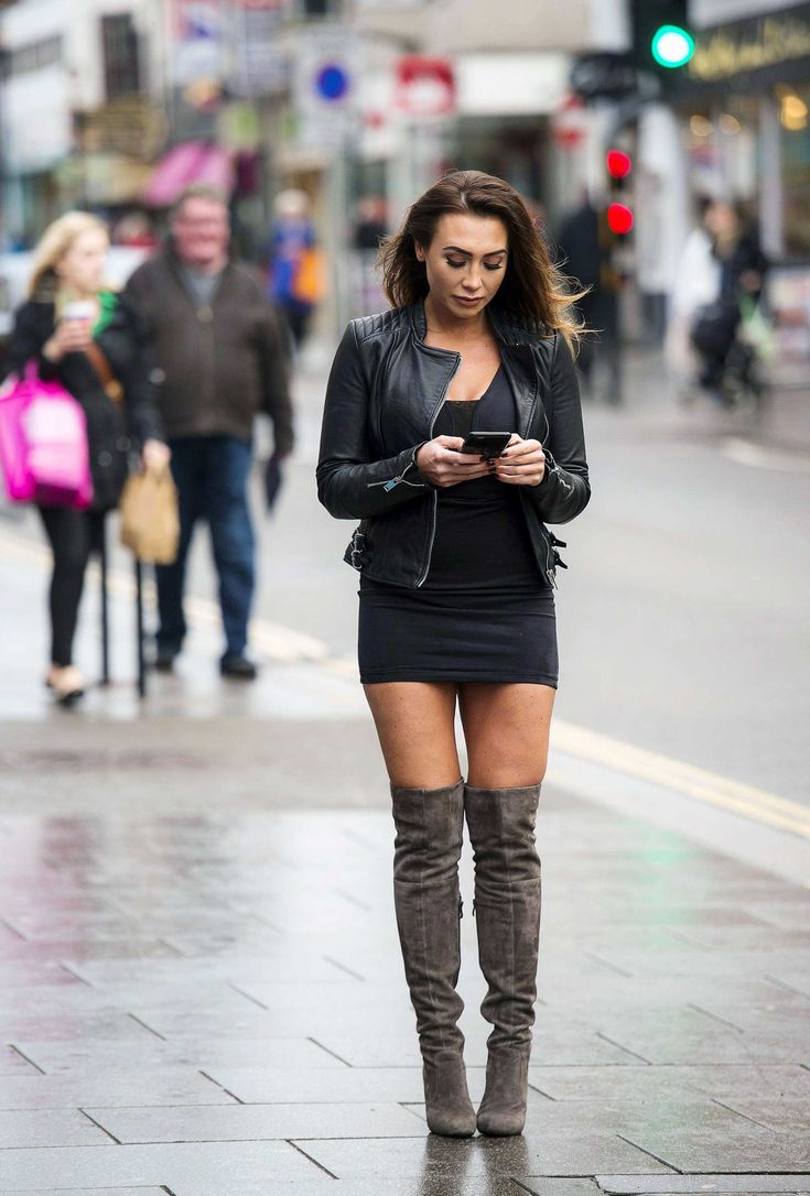 Lauren Goodger out In Essex On
