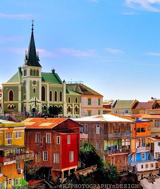 Valparaiso , Chile°°  #Viajando