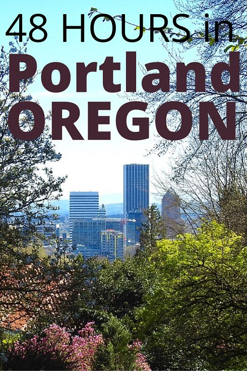 Adoration 4 Adventure's 2 day itinerary for Portland, Oregon, U.S.A. Can be used a full itinerary or modified for any trip type and duration.